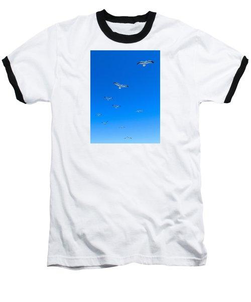 Baseball T-Shirt featuring the photograph Ascending To Heaven by Eduardo Jose Accorinti
