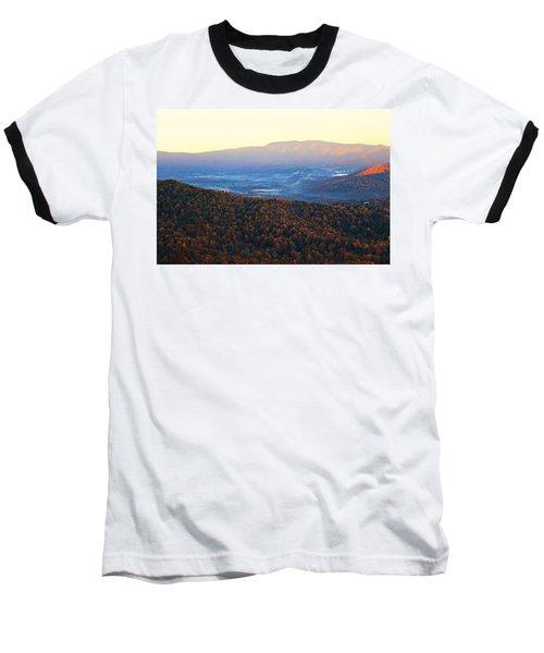 Autumn Mountains  Baseball T-Shirt