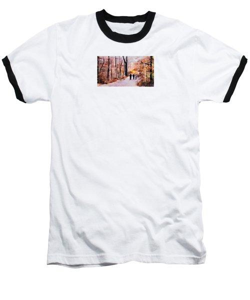 Autumn Walkers Baseball T-Shirt