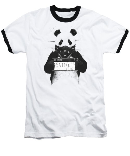 Bad Panda Baseball T-Shirt