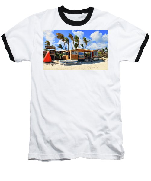 Bankie Banxs Dunes Preserve Beach Bar Baseball T-Shirt