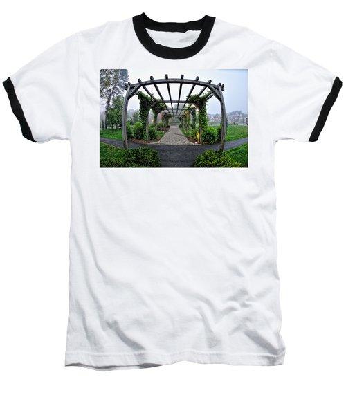 Bar Harbor Pergola Baseball T-Shirt