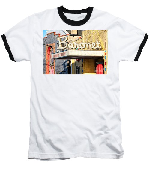 Baronet Theater Asbury Park New Jersey 1913 Demolished In 2010 Baseball T-Shirt