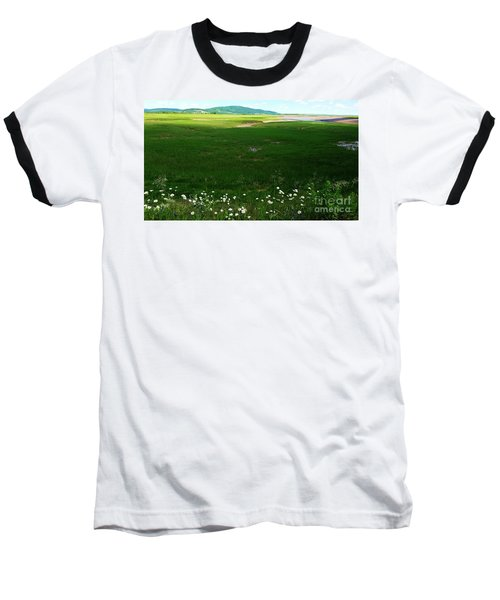 Bay Of Fundy Landscape Baseball T-Shirt