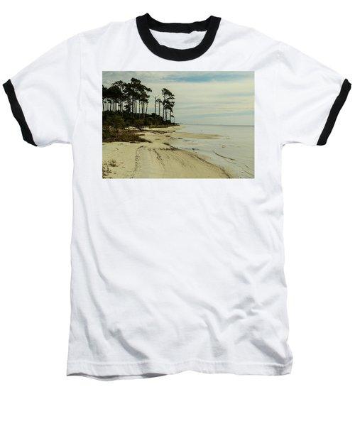 Beach And Trees Baseball T-Shirt