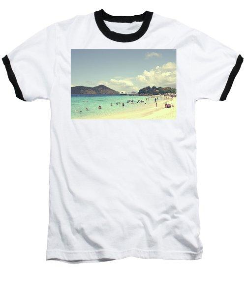 Beachscape Baseball T-Shirt