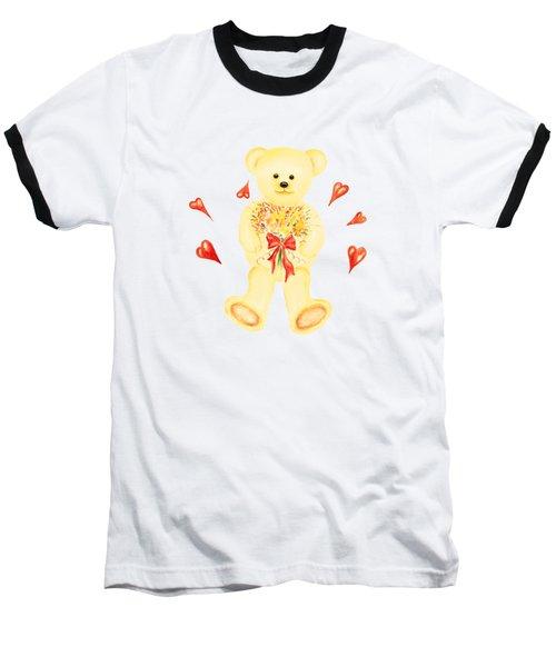 Bear In Love Baseball T-Shirt