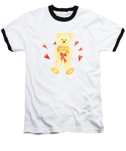 Bear In Love Baseball T-Shirt