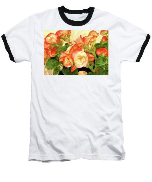 Begonia Beguiled Baseball T-Shirt
