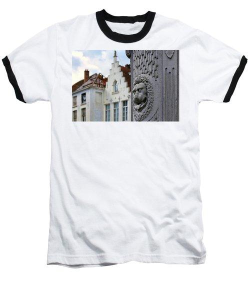 Belgian Coat Of Arms Baseball T-Shirt