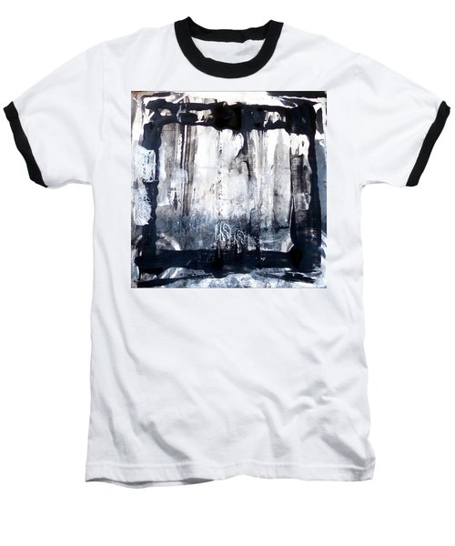 Baseball T-Shirt featuring the painting Birch by 'REA' Gallery