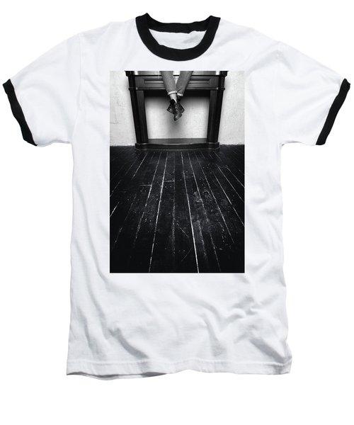 Black Shoes #9397 Baseball T-Shirt