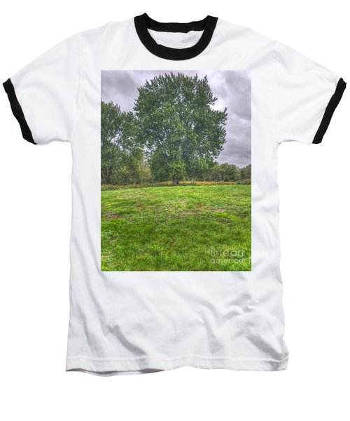 Blacklick Circle Earthwork Baseball T-Shirt