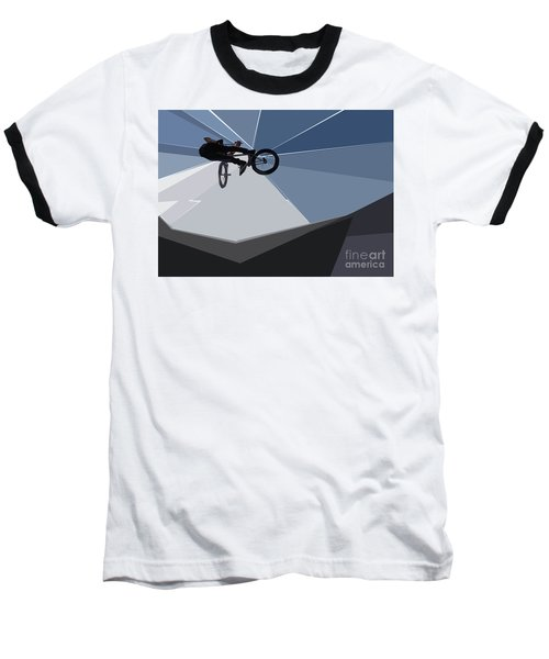 Bmx Biking  Baseball T-Shirt