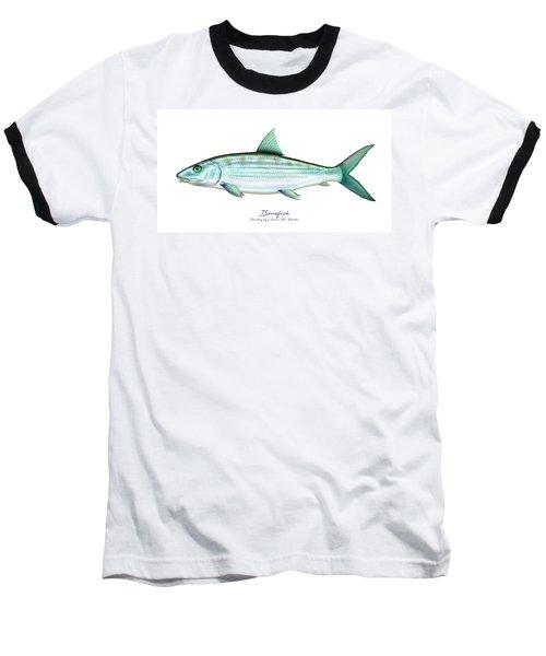 Bonefish Baseball T-Shirt