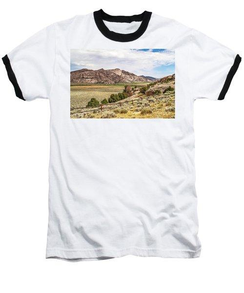 Breathtaking Wyoming Scenery Baseball T-Shirt