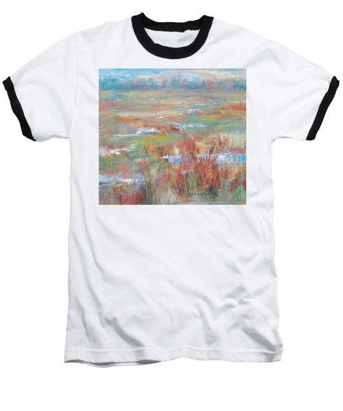 Brush Creek In Abstract Baseball T-Shirt