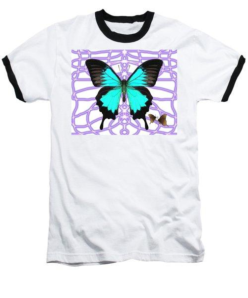 Butterfly Patterns 18 Baseball T-Shirt