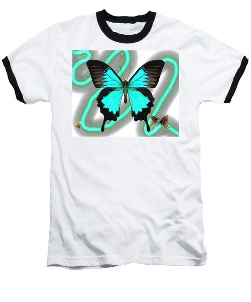 Butterfly Patterns 23 Baseball T-Shirt