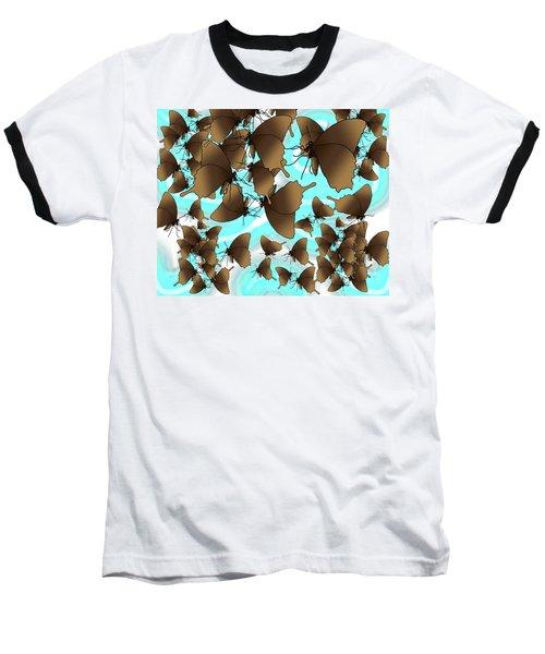 Butterfly Patterns 6 Baseball T-Shirt