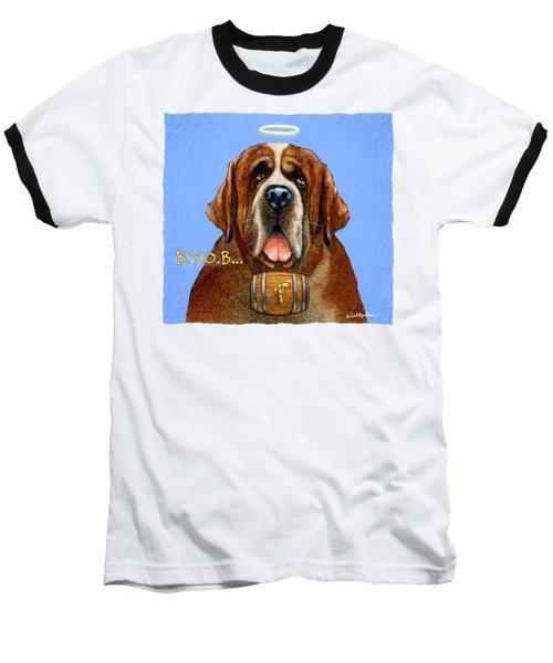 B.y.o.b... Baseball T-Shirt