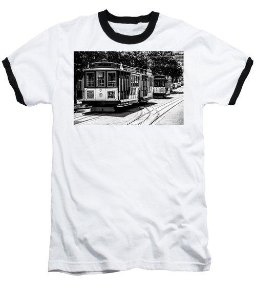 Cable Cars Baseball T-Shirt