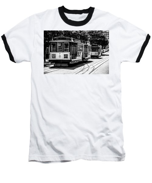 Cable Cars Baseball T-Shirt