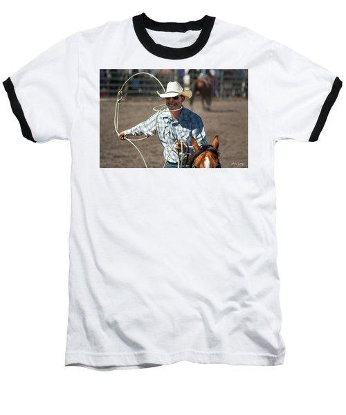 Calf Roper Baseball T-Shirt