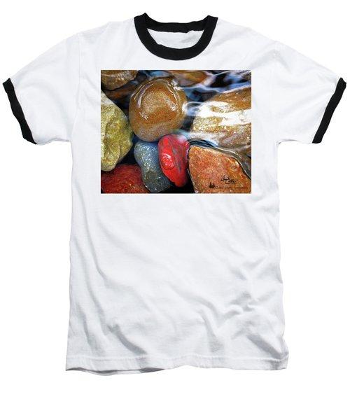 Calming Stones Baseball T-Shirt