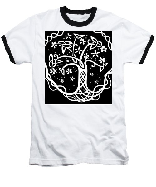 Celtic Tree Of Life 3 Baseball T-Shirt