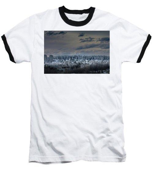 Central Park Winter Baseball T-Shirt