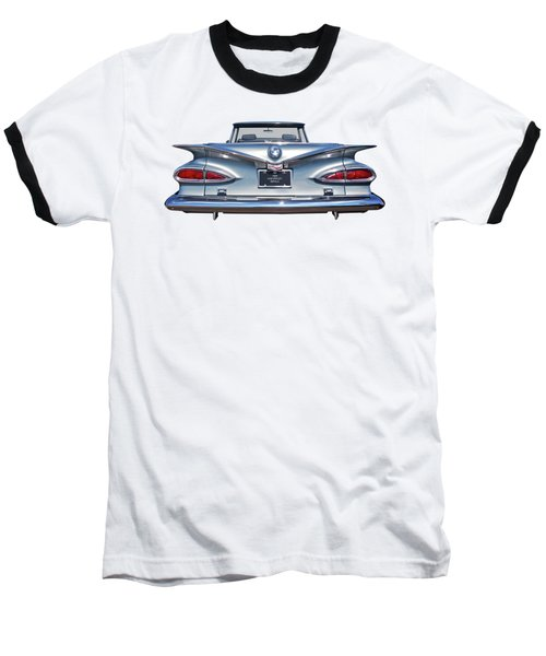 Chevrolet Impala 1959 Shining In The Light Baseball T-Shirt