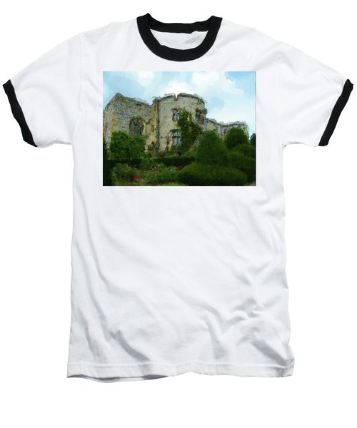 Chirk Castle Painting Baseball T-Shirt