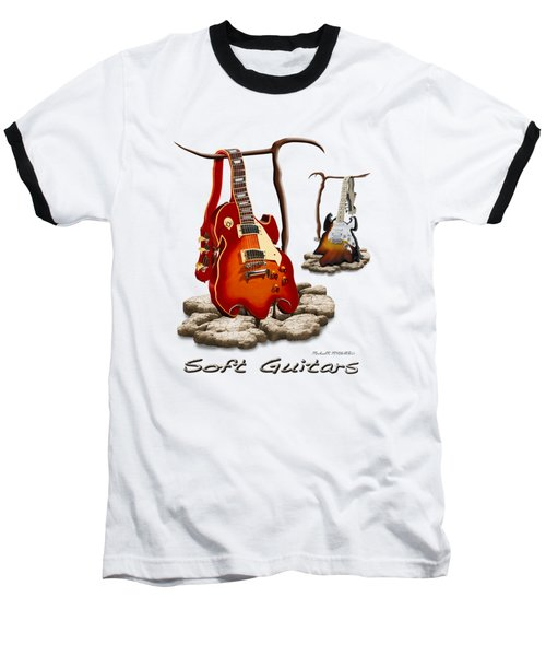 Classic Soft Guitars Baseball T-Shirt