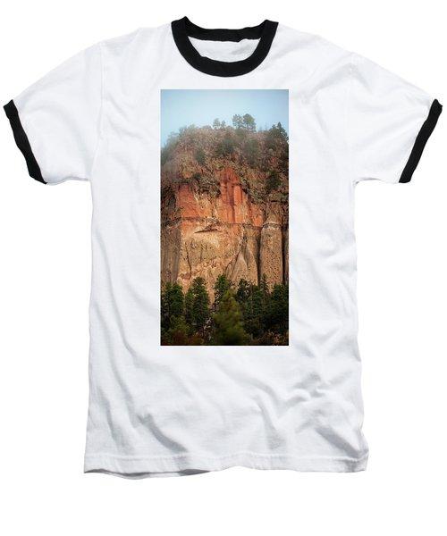Cliff Face Baseball T-Shirt