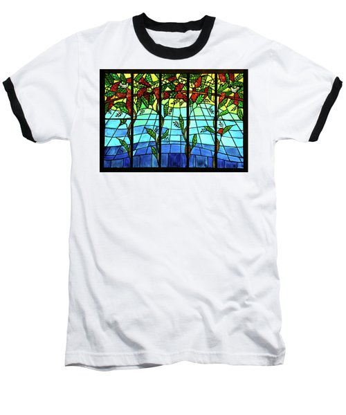 Climbing Vines Baseball T-Shirt