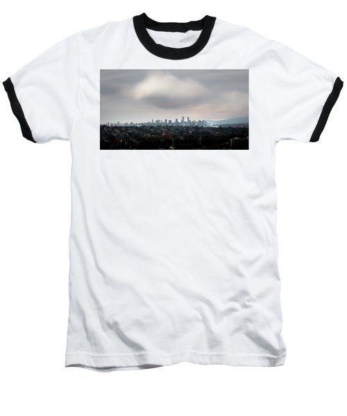 Cloud On Vancouver  Baseball T-Shirt