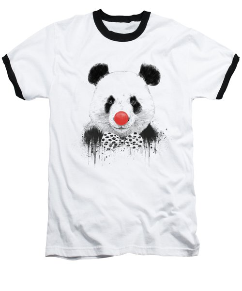 Clown Panda Baseball T-Shirt