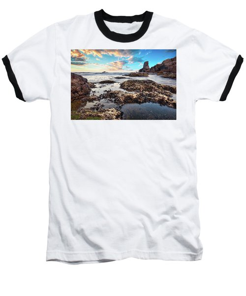 Coast At Sozopol, Bulgaria Baseball T-Shirt