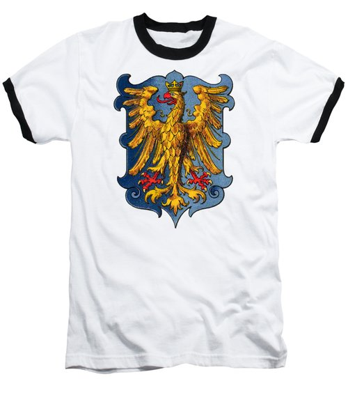 Coat Of Arms Of The Duchy Of Friuli Baseball T-Shirt