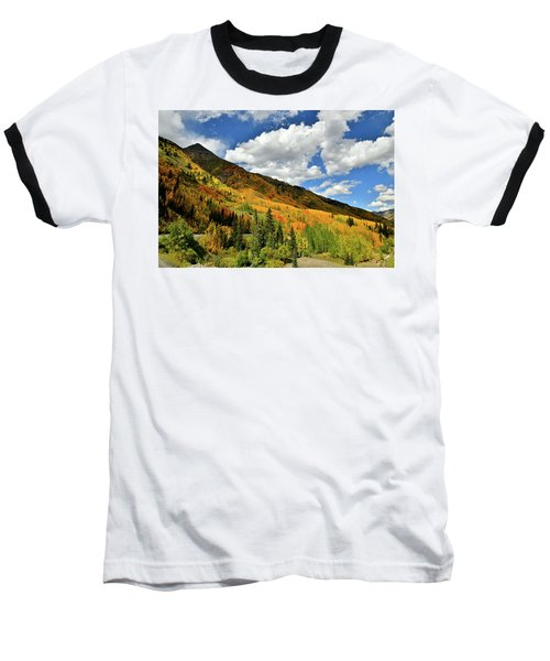 Color In The Spotlight At Red Mountain Pass Baseball T-Shirt