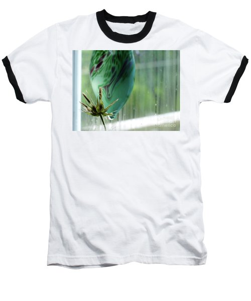 Composition In Green Baseball T-Shirt
