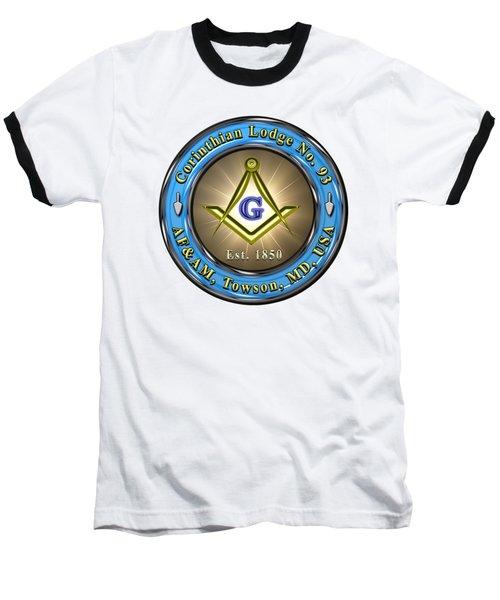Corinthian #93 Logo - Transparent Background Baseball T-Shirt