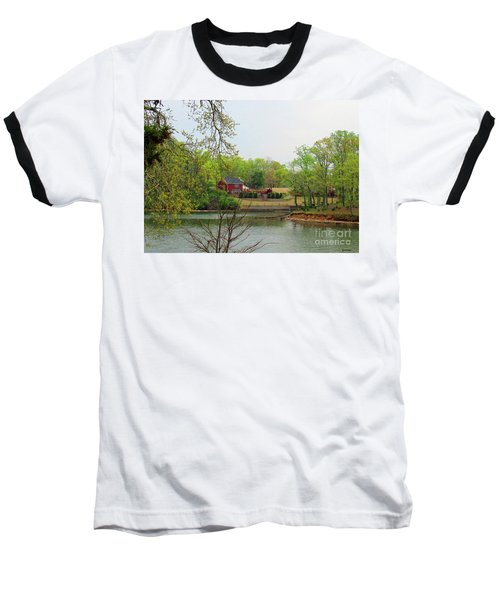 Country Living On The Tennessee River Baseball T-Shirt