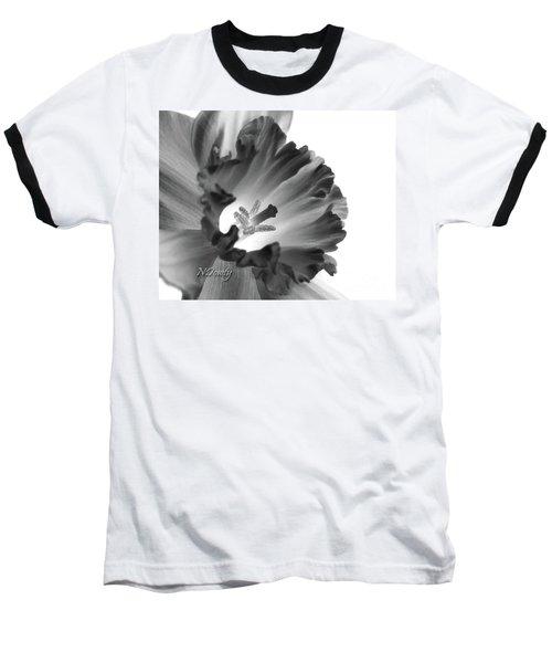 Daffodil Cornered Baseball T-Shirt