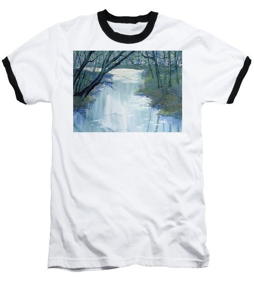 Dazzle On The Derwent Baseball T-Shirt