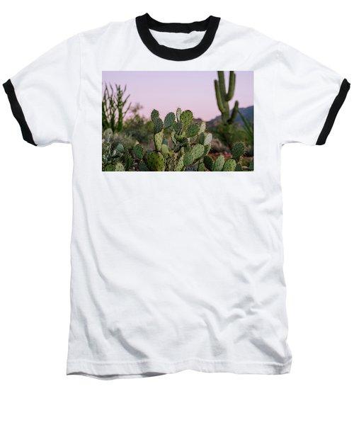 Baseball T-Shirt featuring the photograph Desert Heart by Margaret Pitcher