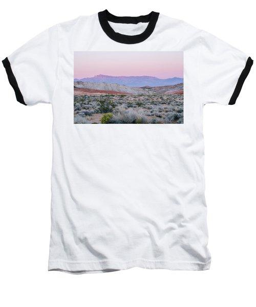 Baseball T-Shirt featuring the photograph Desert On Fire No.1 by Margaret Pitcher