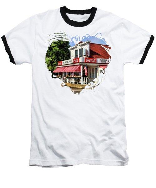 Door County Wilson's Ice Cream Store Baseball T-Shirt