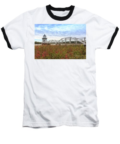 Doubling Point Lighthouse In Maine Baseball T-Shirt